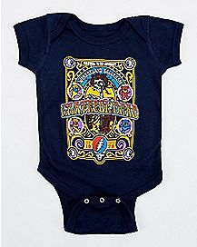 Grateful Dead Baby Bodysuit