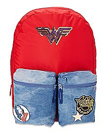 Patch Wonder Woman Backpack - DC Comics