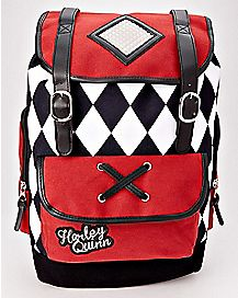 Ruck Sack Harley Quinn Backpack - DC Comics