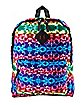 Rainbow Gradient Lightning Backpack