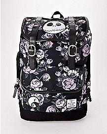 Floral The Nightmare Before Christmas Backpack - Disney