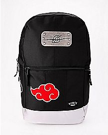 Metal Badge Naruto Backpack