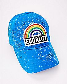 Splatter Rainbow Equality Dad Hat