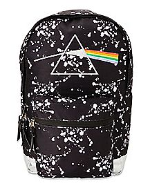 Paint Splatter Pink Floyd Backpack
