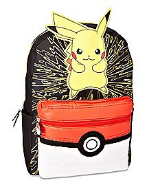 3D Pikachu Backpack - Pokemon