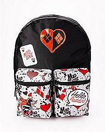 Hello Puddin' Harley Quinn Backpack - DC Comics