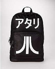 Black and White Atari Backpack
