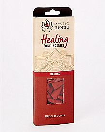 Healing Incense Cones - 40 Pack