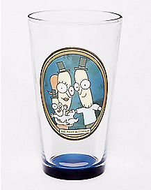 The Poopybuttholes Pint Glass 16 oz. - Rick and Morty