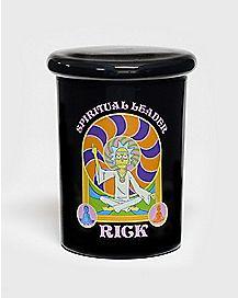 Spiritual Leader Storage Jar 12 oz. - Rick and Morty