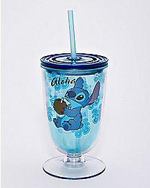 Stitch Cup With Straw 15 oz. - Lilo & Stitch