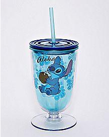 Stitch Cup With Straw 15 oz. - Lilo & Stitch