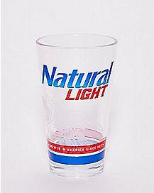 Natural Light Pint Glass - 16 oz.