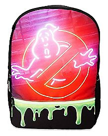 Neon Sign Ghostbusters Backpack