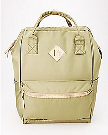 Olive Hinge Backpack