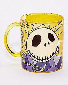 Stained Glass Jack Skellington Coffee Mug 17.5 oz - The Nightmare Before Christmas
