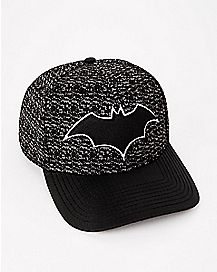 Knit Batman Snapback Hat - DC Comics