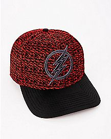 Knit The Flash Snapback Hat - DC Comics