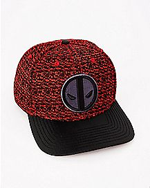 Knit Deadpool Snapback Hat - Marvel