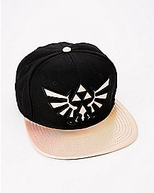 Iridescent Zelda Snapback Hat - The Legend of Zelda