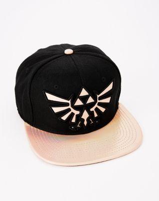 Iridescent Zelda Snapback Hat - The Legend of Zelda dd5464186cfa