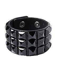 Black Stud Bracelet