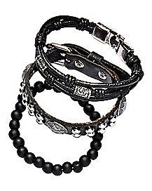 Multi-Pack Beaded Bracelets - 3 Pack