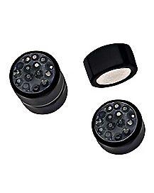 Black CZ Fake Magnetic Plugs