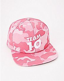 Camouflage Team 10 Jake Paul Snapback Hat