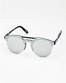 Round Shield Sunglasses