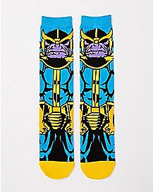 Thanos Crew Socks - Marvel