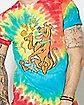 Tie Dye Scooby Doo T Shirt
