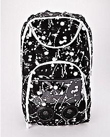 Paint Splatter Audio Backpack