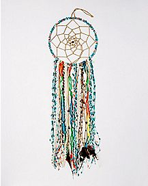 Beaded Feather Dream Catcher