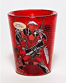 Smell You Later Freezer Deadpool Shot Glass 1.5 oz. - Marvel