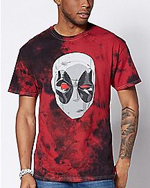 Tie Dye Deadpool T Shirt - Marvel