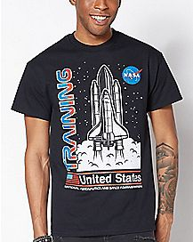 Training NASA T Shirt
