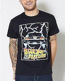 Delorean Back To The Future T Shirt