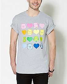 Colorful Care Bear T Shirt