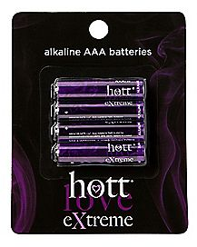 AAA Batteries 4 Pack - Hott Love Extreme