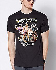 Wrestle Mania Legends T Shirt - WWE