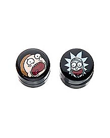 Rick and Morty Magnetic Fake Plugs