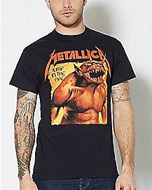 Jump In The Fire Metallica T Shirt