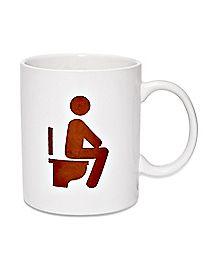 Coffee Makes Me Poop Coffee Mug - 16 oz.