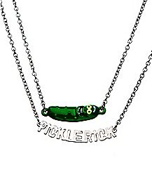 Pickle Rick Tiered Necklace -  Rick & Morty