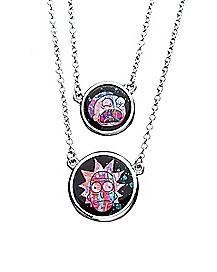 Tie Dye Necklace - Rick & Morty