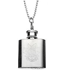 Rick Flask Necklace - Rick & Morty
