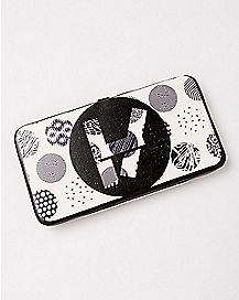 Black and White Twenty One Pilots Hinge Wallet
