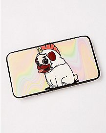 Unicorn Pug Hinge Wallet