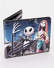 Oogie Boogie Jack and Sally Bifold Wallet - The Nightmare Before Christmas
